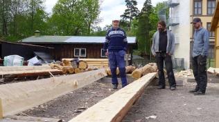 Ivar og Robert sine margsider. Foto: Siv K. Holmin
